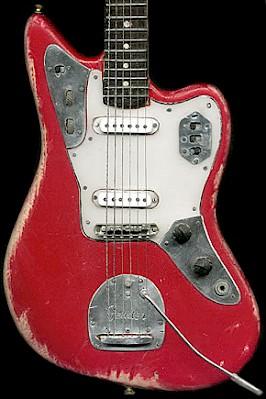 Miniature Model Of John Frusciantes Jaguar