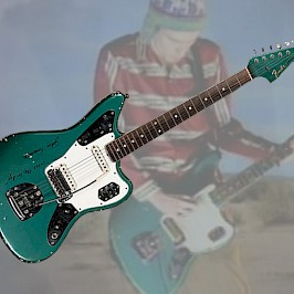 "The 1966 Lake Placid Blue Jaguar John Frusciante played in the ""Under the Bridge"" Video by The Red Hot Chili Peppers"